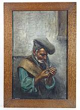 M. Friiria XIX-XX Italian School Oil on canvas Old