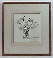 Margaret Calkin James ( XX) Watercolour White
