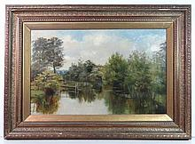 Lady Clark XIX-XX Oil on canvas