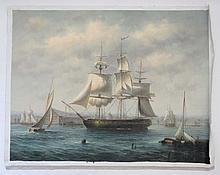 James Hardy XX Marine School Oil on canvas