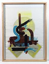 Edmond Xavier Kapp (1890-1978) Oil on paper