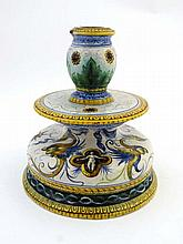 An Italian faience Ginori / Maiolica shaped