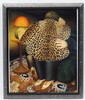 Beryl Cook (1926-2008), Coloured print, 'The Leopard Skin Coat' Aperture 10 3/4'' x 8 1/2''. This image has resided at a framers for approximately 40 years !  Please note this lot may be subject to Artists re-sale rights. (ARR)., Beryl Frances Cook, £32