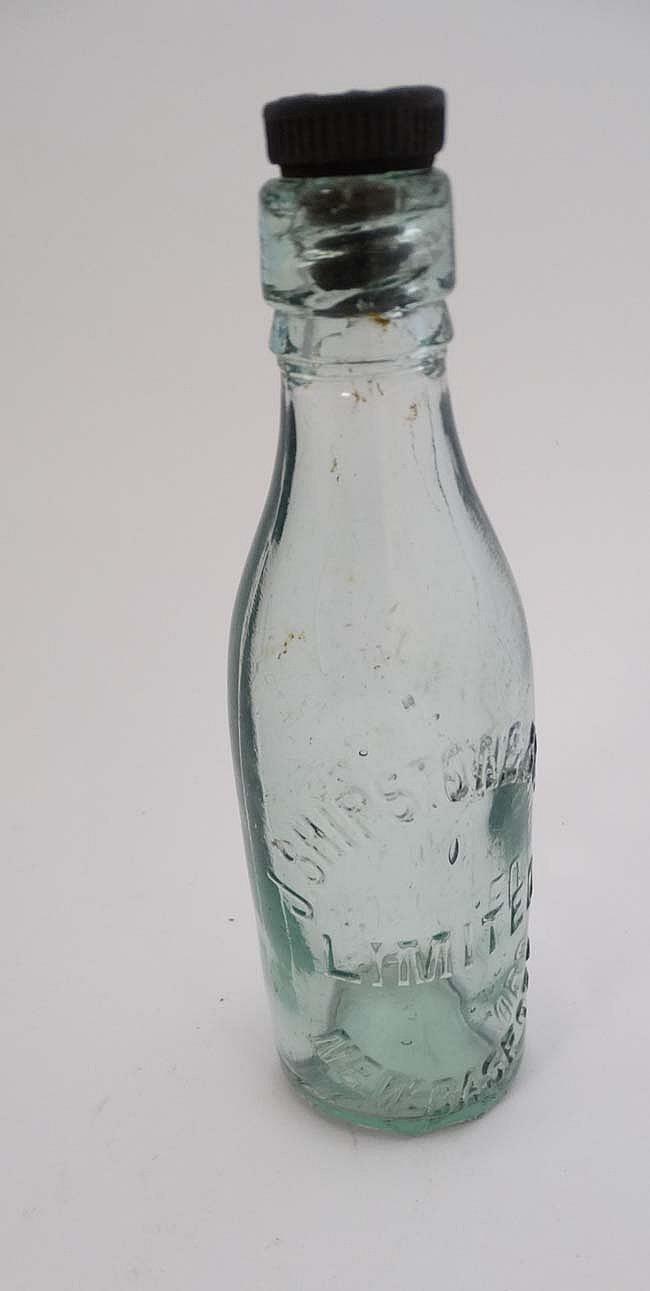 Cod Bottle And Glass Bottle Together