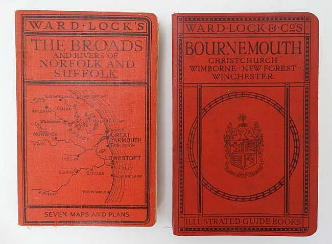 ward lock and co illustrated guide books