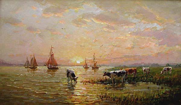 Vladimir Belsky (b.1949), Russian School Oil on