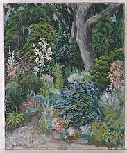 Hal Woolf (1902-1962) British Oil on canvas Garden