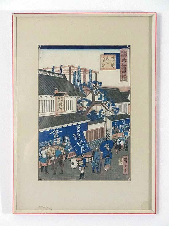 Hiroshige Ando, Japan Wood block print '