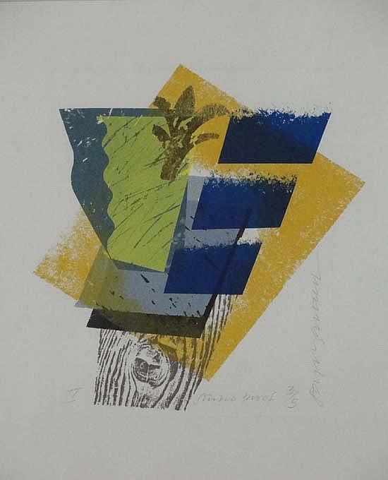 Stephen Bartlett (b.1942) Print - studio Proof 3/5
