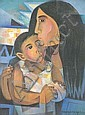 Paco Gorospe (1939-) South American School Oil on, Paco Gorospe, Click for value
