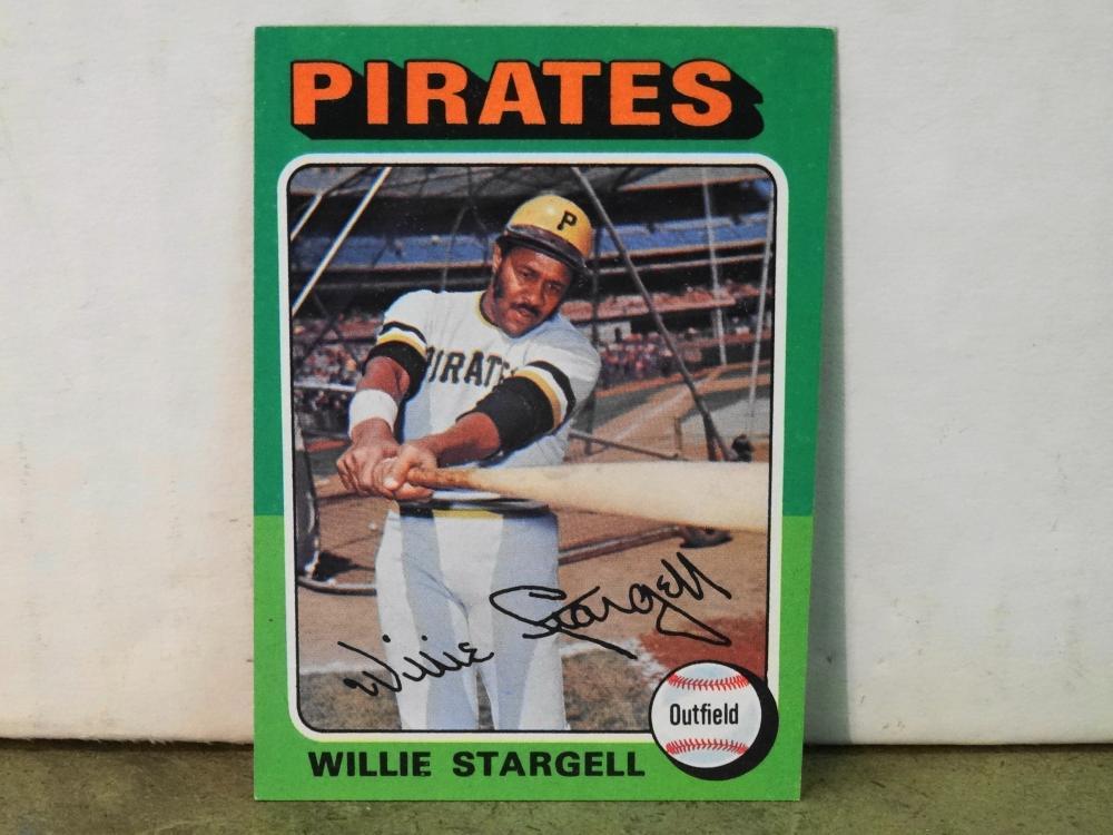 1975 TOPPS NO. 100 WILLIE STARGELL BASEBALL CARD