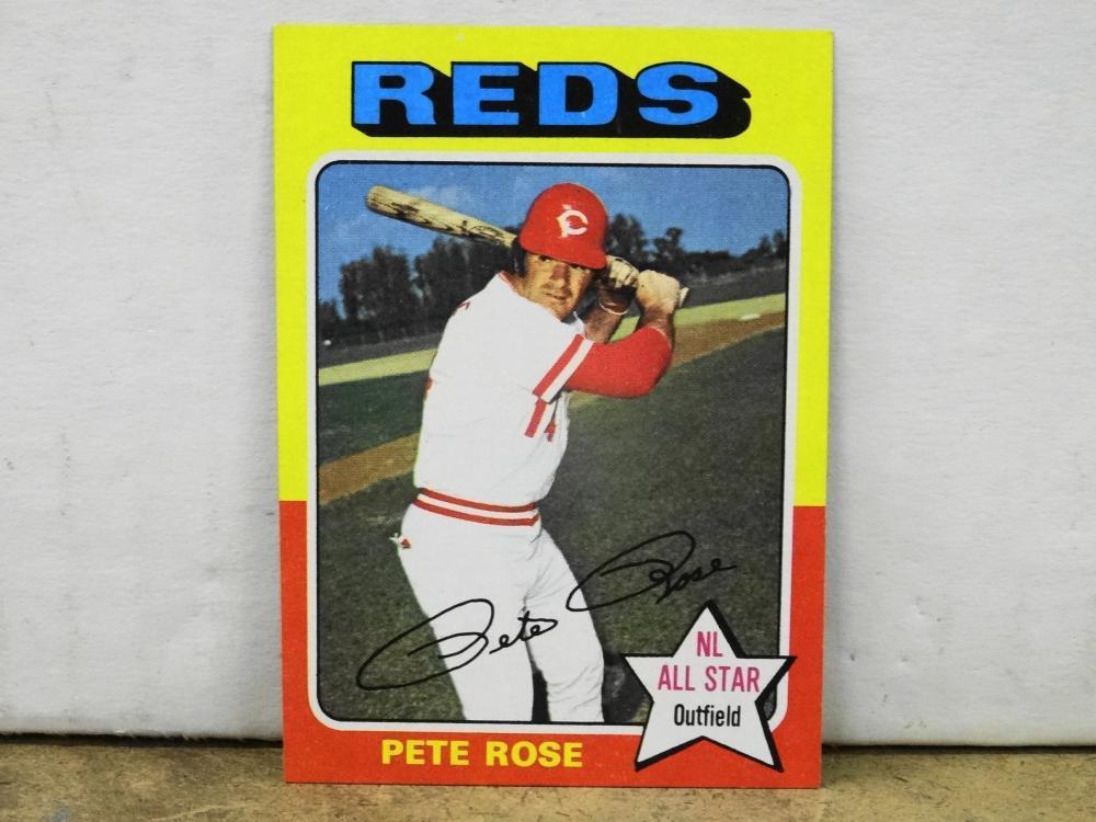 1975 TOPPS NO. 320 PETE ROSE BASEBALL CARD