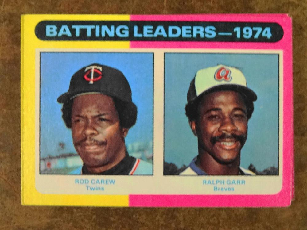 15 1975 TOPPS LEADERS BASEBALL CARDS