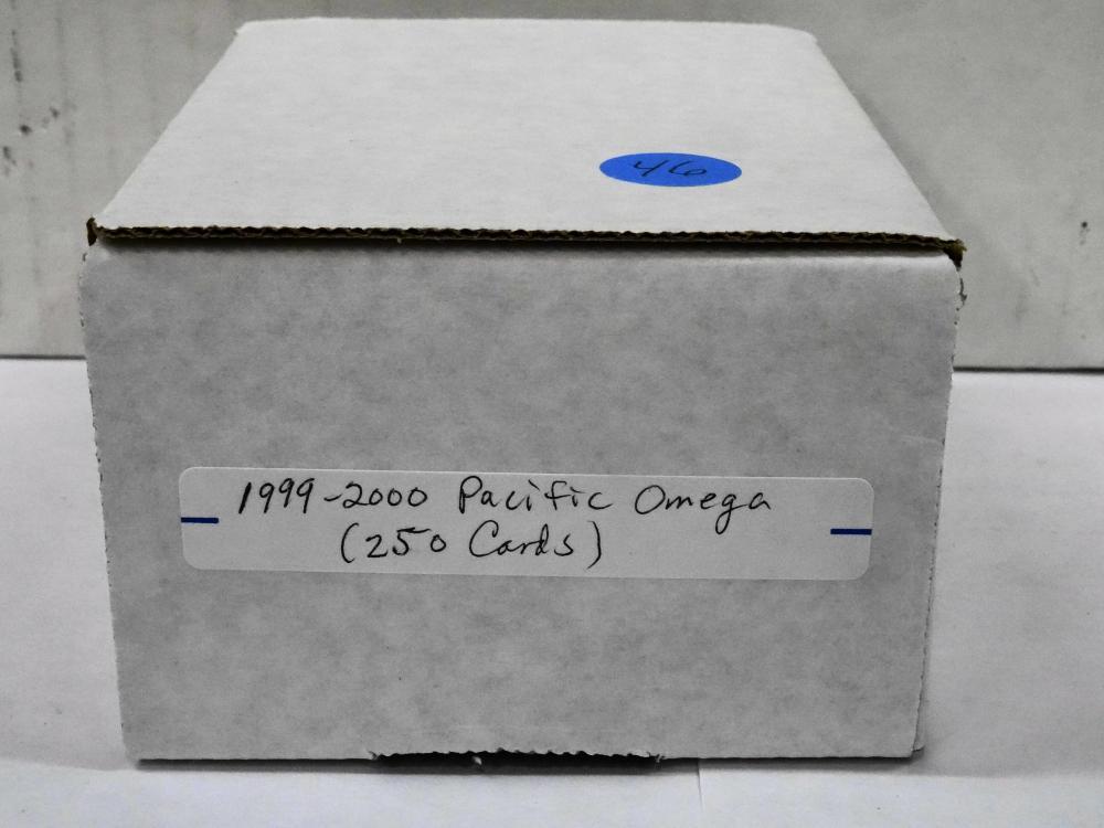 1999/2000 PACIFIC OMEGA HOCKEY CARD SET