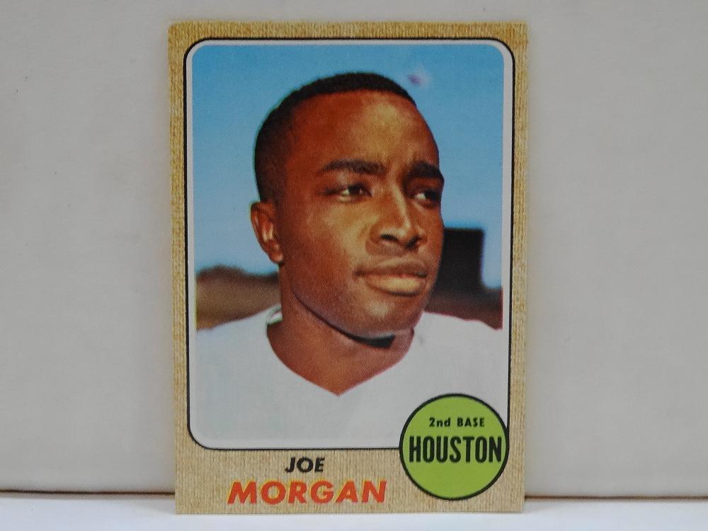 1968 TOPPS NO. 144 JOE MORGAN BASEBALL CARD