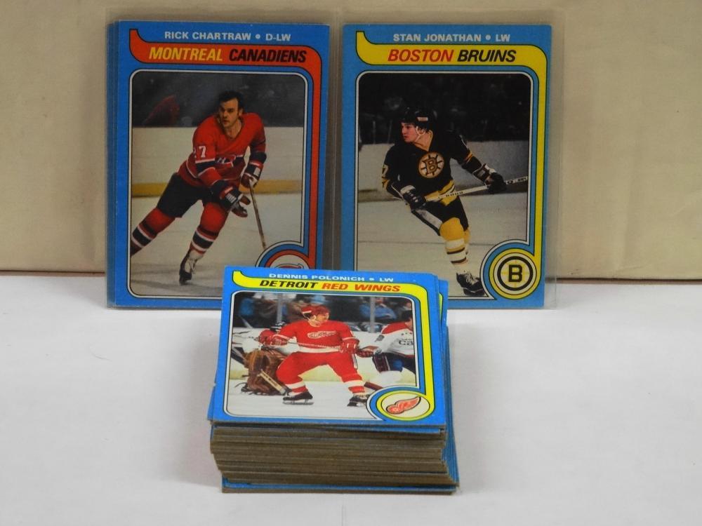 49 1979 TOPPS HOCKEY CARDS