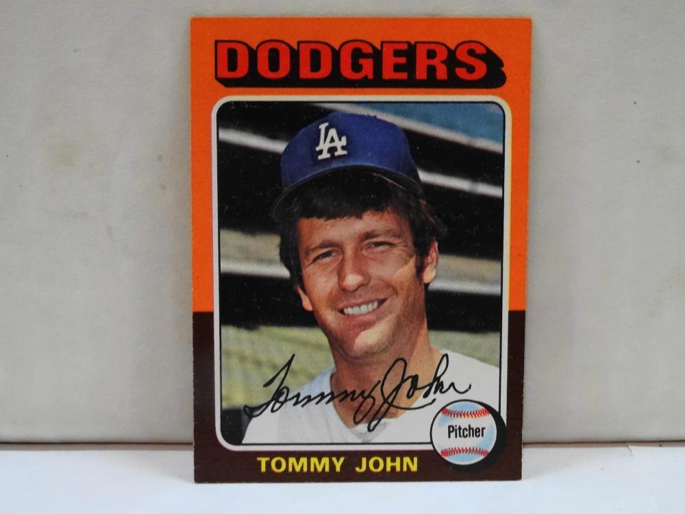 1975 TOPPS NO. 47 THOMAS JOHN BASEBALL CARD