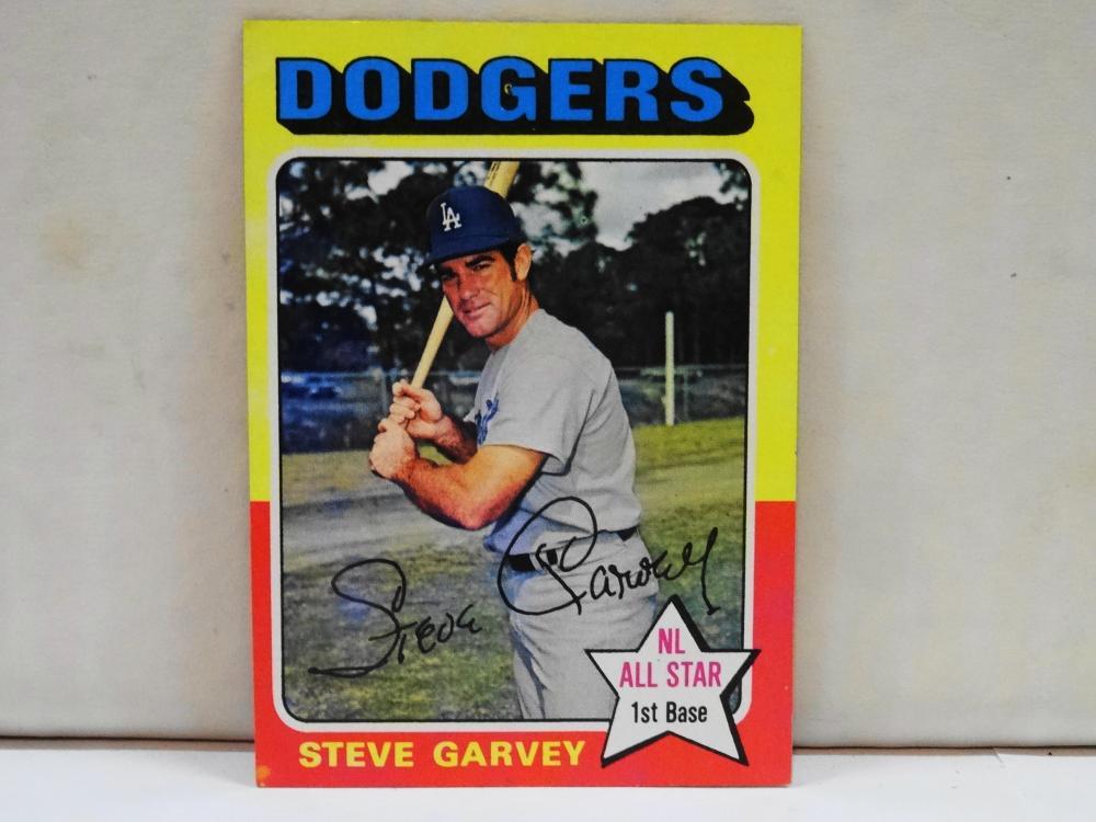 1975 TOPPS NO. 140 STEVE GARVEY BASEBALL CARD