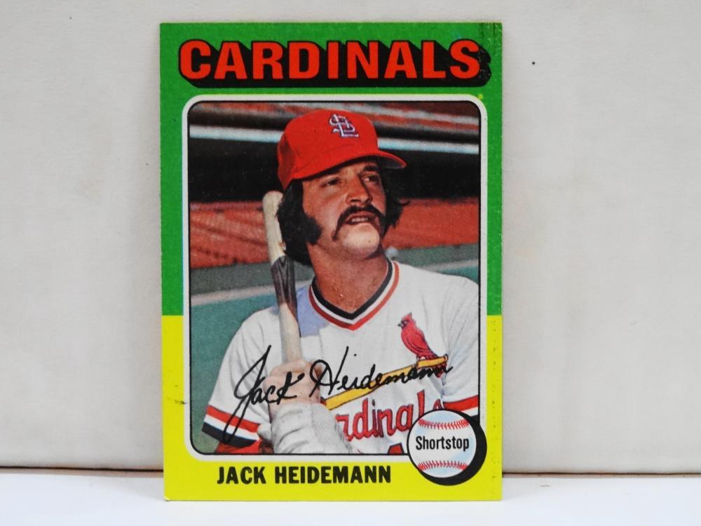 1975 TOPPS NO. 649 JACK HEIDEMANN BASEBALL CARD