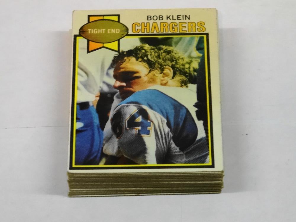 34 1979 TOPPS FOOTBALL CARDS