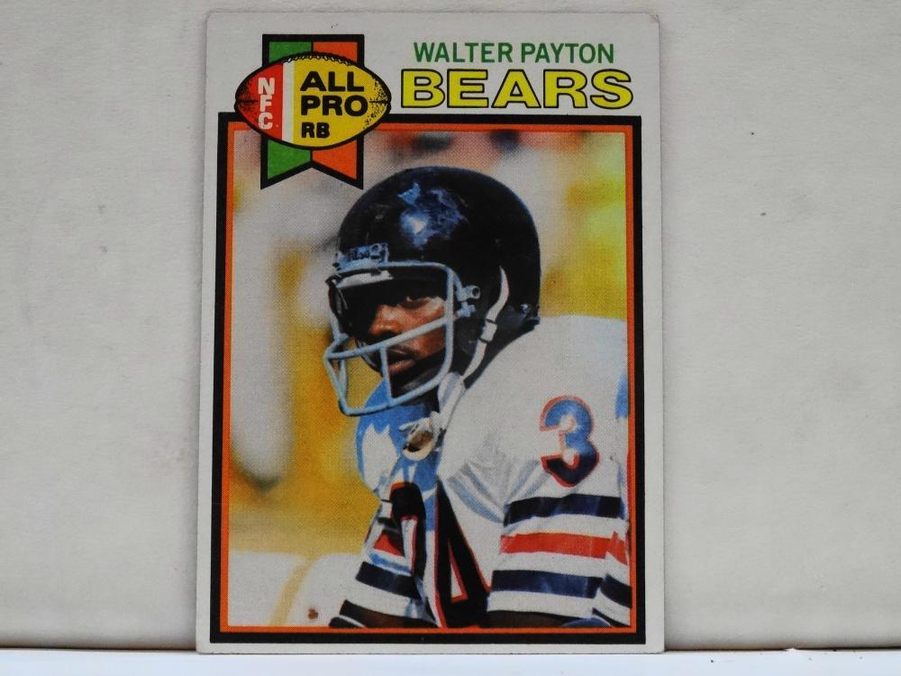 1979 TOPPS NO. 480 WALTER PAYTON FOOTBALL CARD