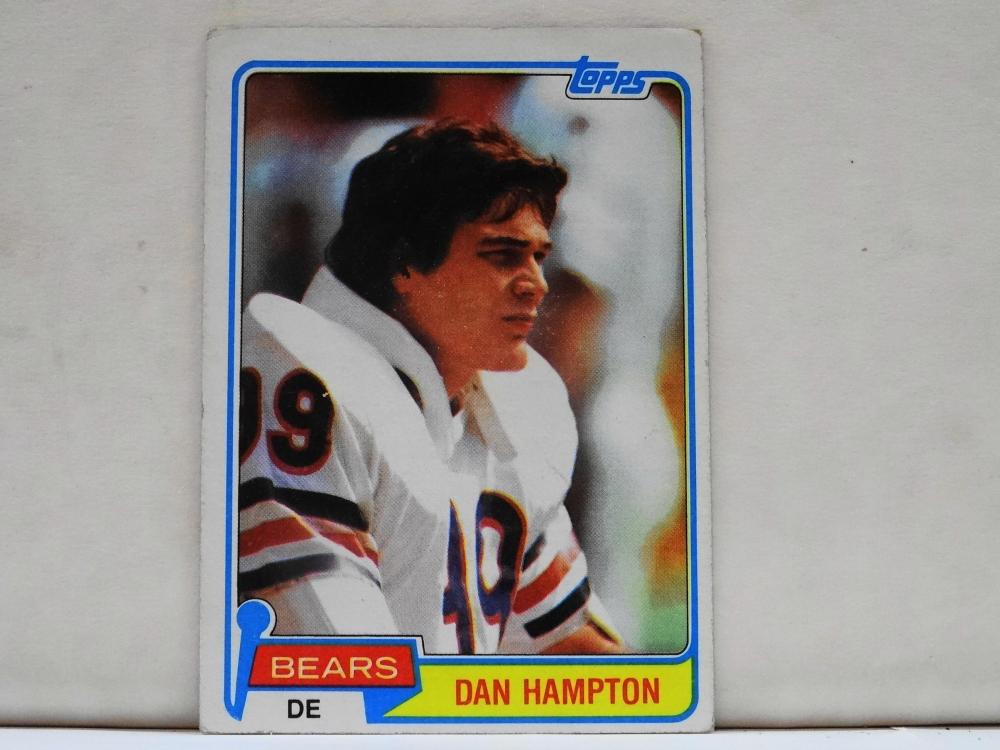 1981 TOPPS NO. 316 DAN HAMPTON FOOTBALL CARD