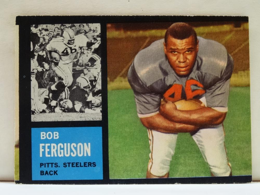 1962 TOPPS NO. 137 BOB FERGUSON FOOTBALL CARD