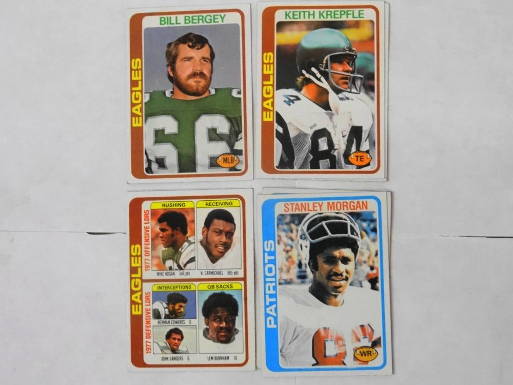 7 1978 TOPPS FOOTBALL CARDS