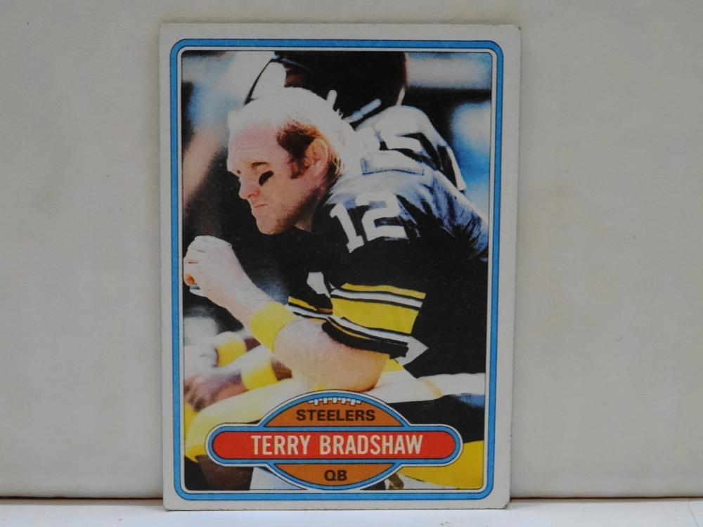 1980 TOPPS NO. 200 TERRY BRADSHAW FOOTBALL CARD