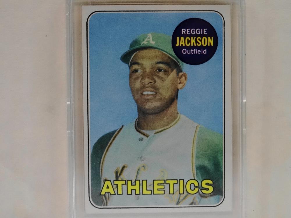 1969 TOPPS NO. 260 REGGIE JACKSON BASEBALL CARD