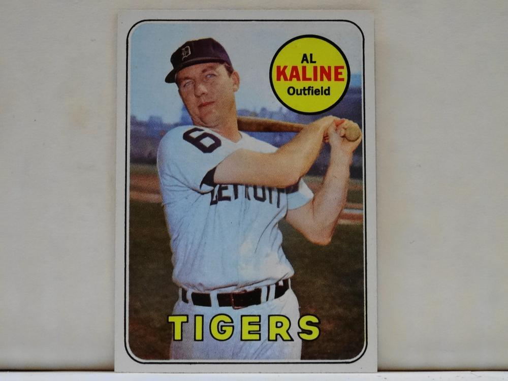 1969 TOPPS NO. 410 AL KALINE