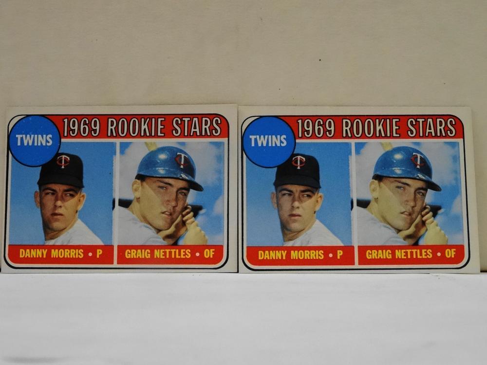 2 1969 TOPPS NO. 99 1969 ROOKIE STARS BASEBALL CARDS