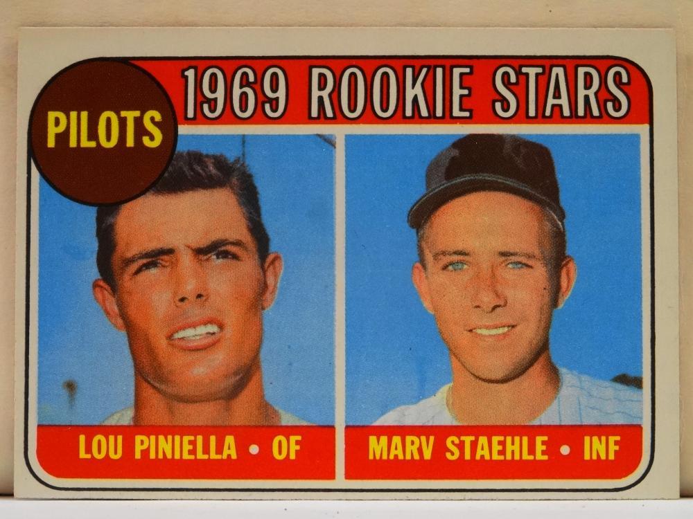1969 TOPPS NO. 394 1969 ROOKIE STARS BASEBALL CARD