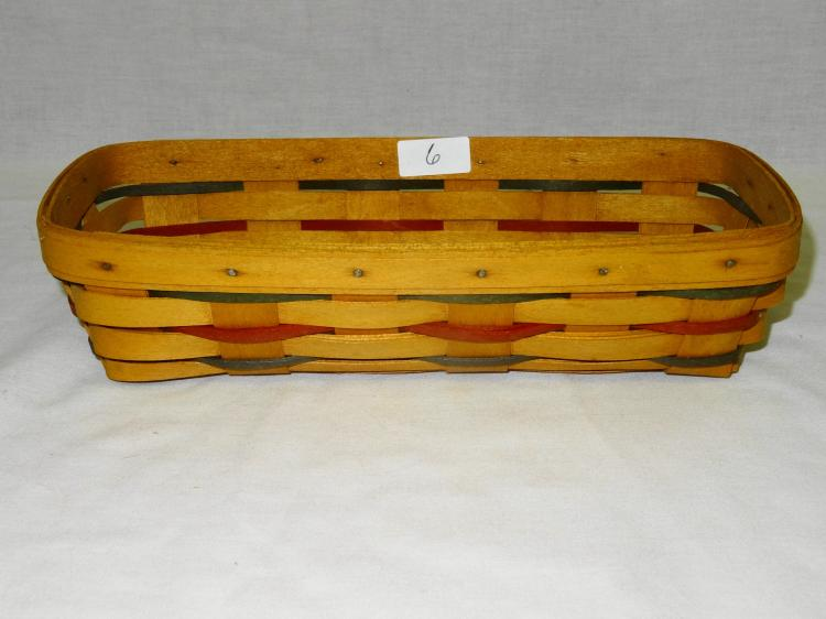 VINTAGE LONGABERGER CRACKER BASKET