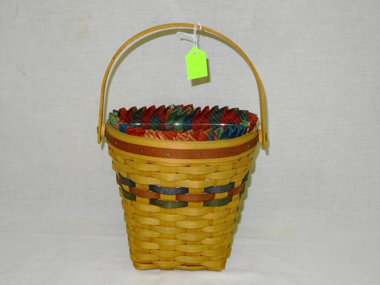 VINTAGE LONGABERGER AUTUMN HARVEST BASKET