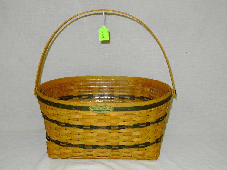 VINTAGE LONGABERGER FAMILY BASKET