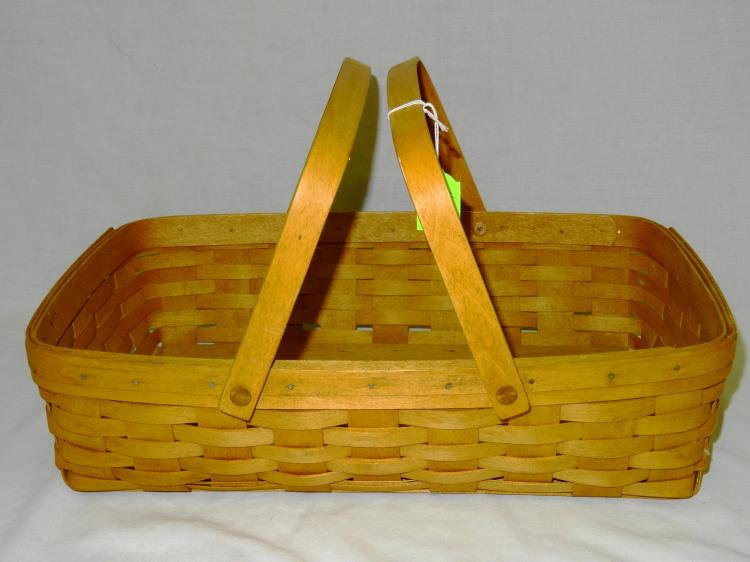 VINTAGE LONGABERGER MEDIUM GATHERING BASKET