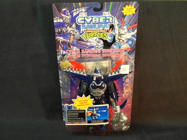 Vintage Playmates Cyber Samurai Teenage Mutant Ninja Turtles Shredder Action Figure