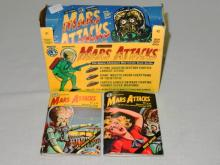 2 VINTAGE MARS ATTACKS MINI COMIC BOOKS