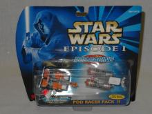 GALOOB MICRO MACHINES STAR WARS EPISODE I POD RACER PACK II