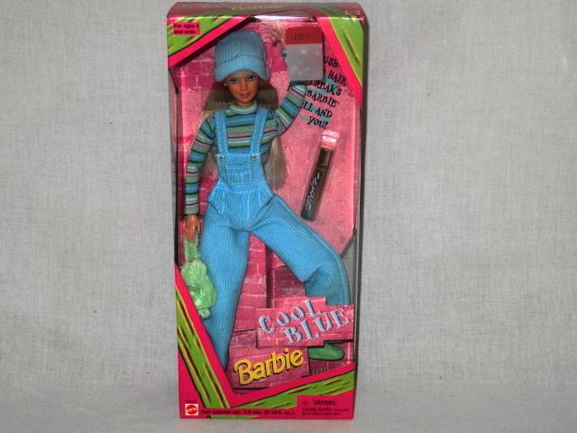 Vintage Cool Blue Barbie Doll