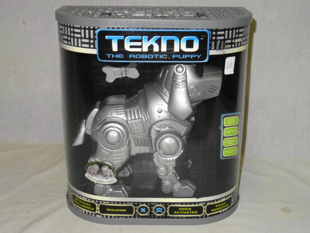 TEKNO BATTERY OPERATED THE ROBOTIC PUPPY