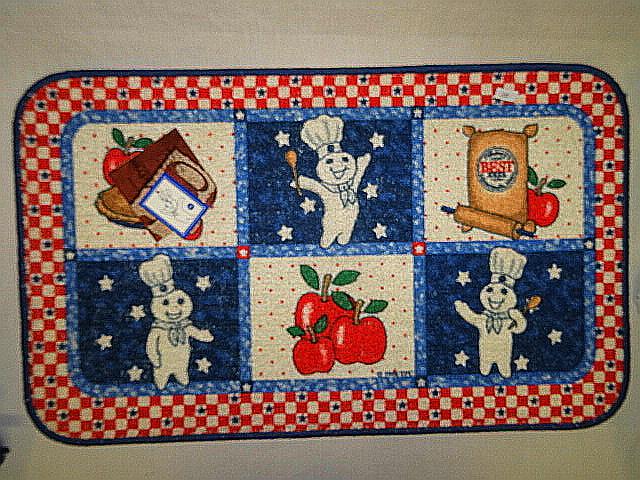 16pc Pillsbury Doughboy All American Kitchen Linen Set