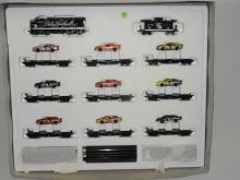 Toy Auction+NASCAR Die-Casts+NASCAR Train Sets+Die-Cast 1/18 Scale Cars