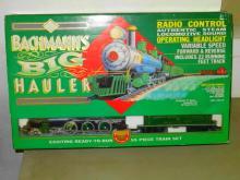 BACHMANN'S RADIO CONTROLLED BIG HAULER G SCALE TRAIN SET