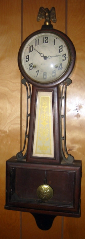 New Haven Banjo Style Wall Clock