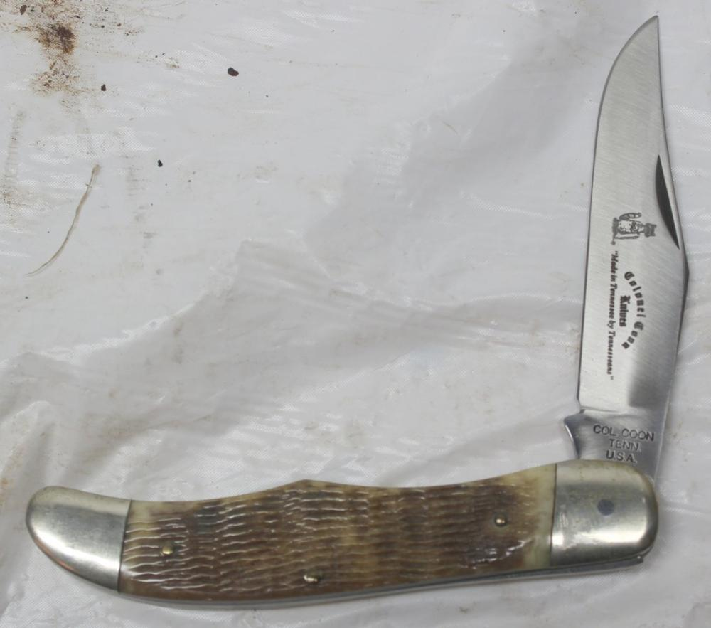 Single Blade Colonel Coon Knife -RARE!!!
