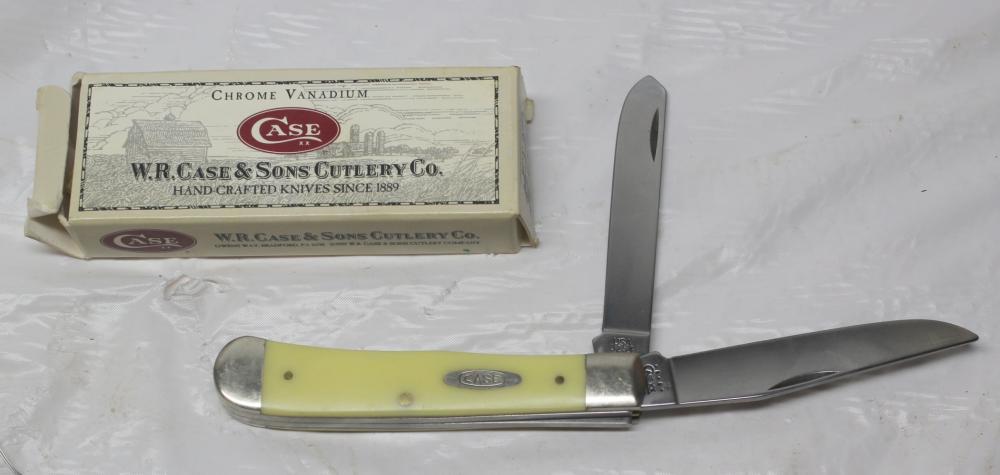 2 Blade Case XX Knife w/Box