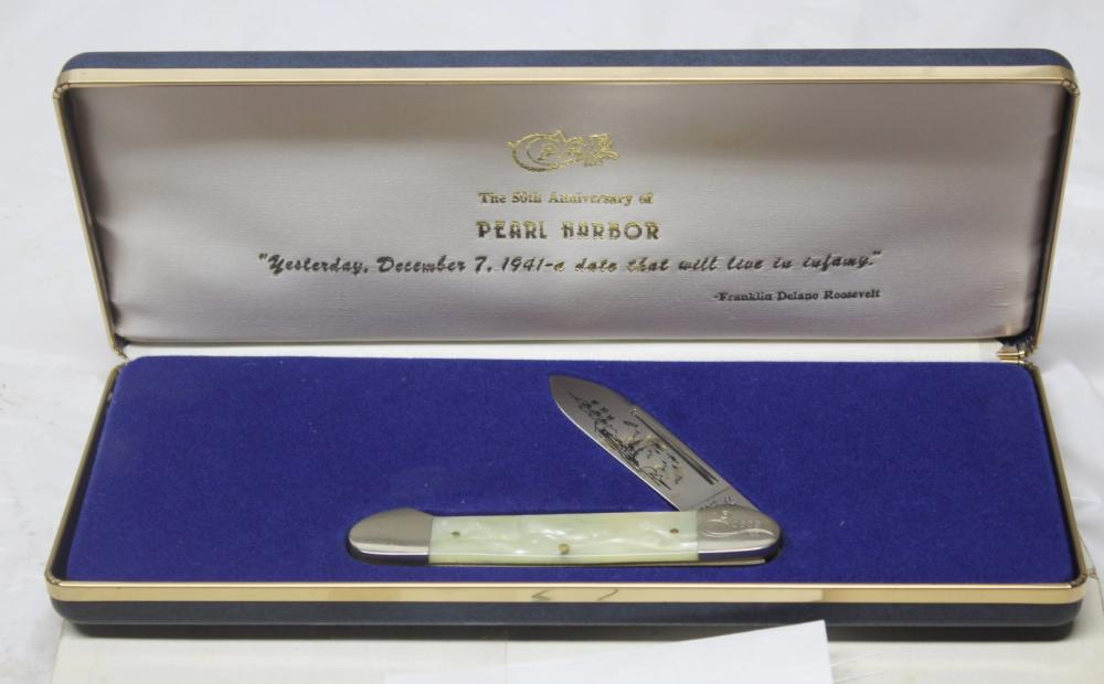 Case XX Pearl Harbor Rememberance Knife w/Box