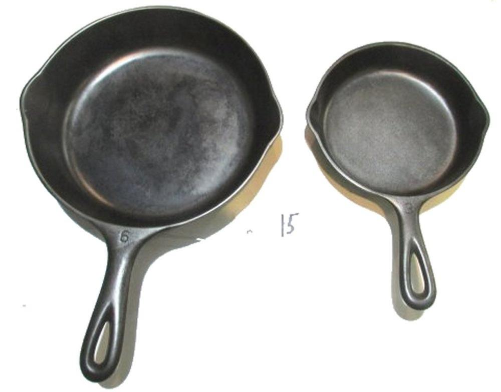 #3 and #6 Wagner Skillets